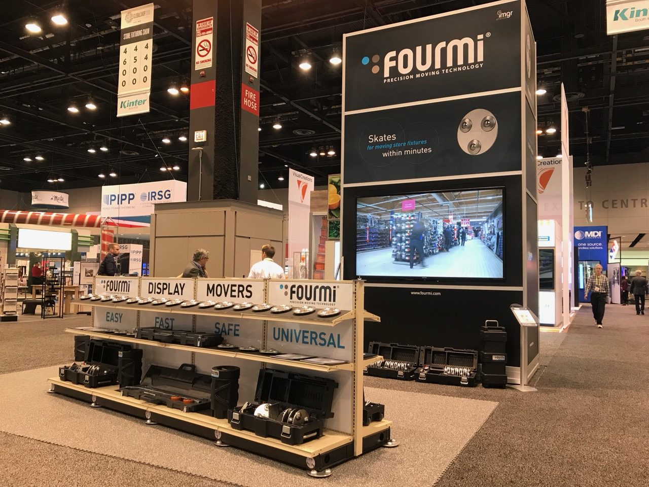 FOURMI Movers Globalshop 2018