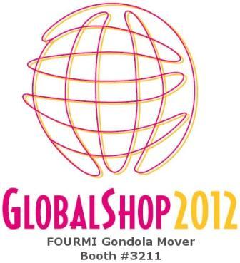 FOURMI Gondola Mover at Globalshop Las Vegas in 2012 - Booth #3211